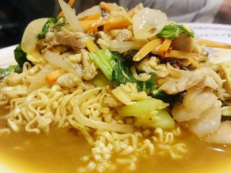 Fried Instant Noodles